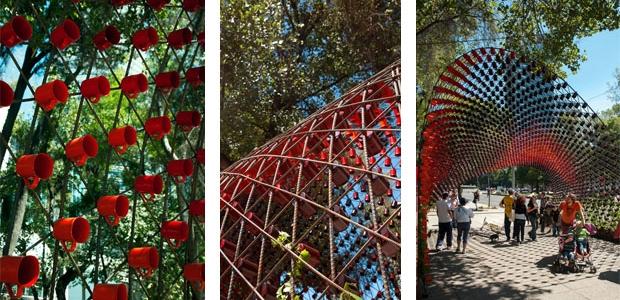 Città del Messico: un tunnel da 1500 tazzine da caffè