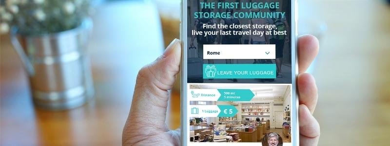 BAGBNB, parte da Roma la prima startup dedicata al deposito bagagli