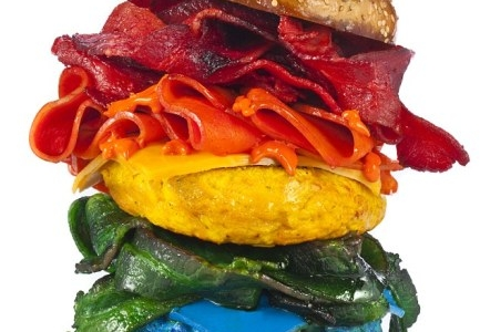 Food art: una tavolozza di c...ibo