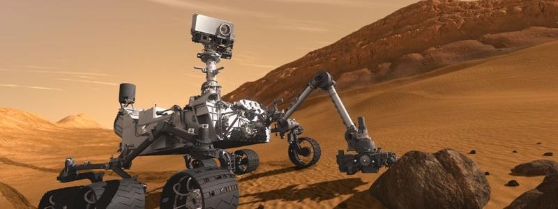 Curiosity su Marte con un po' di Italia