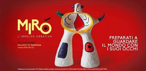 L'impulso creativo di Miró