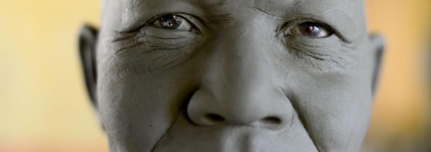 Statue di cera: Mandela a Roma
