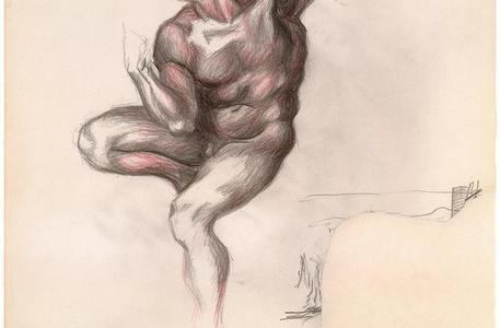La figura della furia: Pollock e Michelangelo a confronto