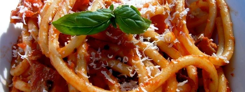 La 46ª Sagra degli Spaghetti all'amatriciana