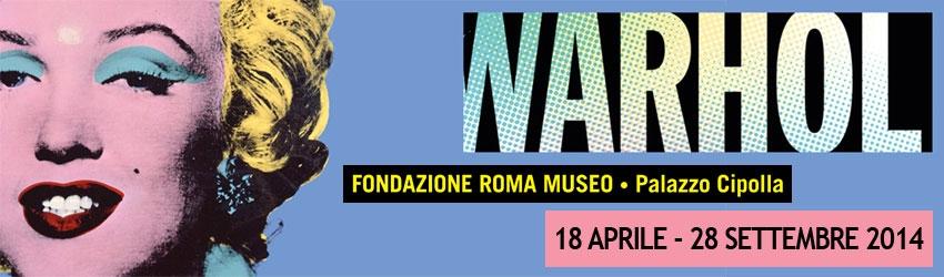 Andy Warhol: il padre della Pop Art americana in mostra a Roma