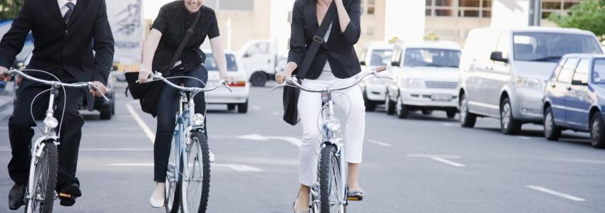 Andare a lavoro in bici aumenta il relax