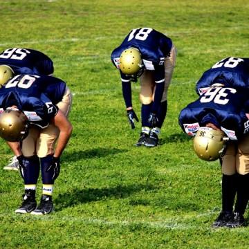 Allenamenti Briganti Napoli American Football Team